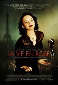 The Poster for the film La Vie En Rose