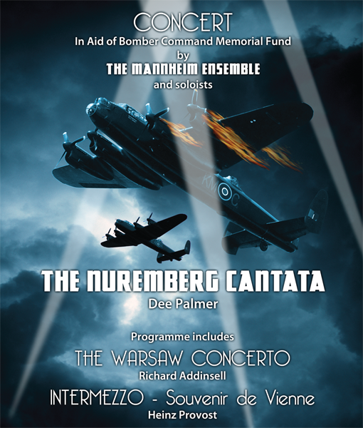 Flyer for Dee Palmer's Nuremberg Cantata