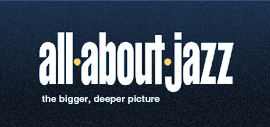 The Logo for Jazz website AllAboutJazz.com
